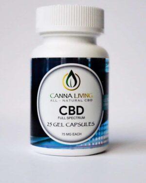 75mg Cbd gel caps *Cannaliving*