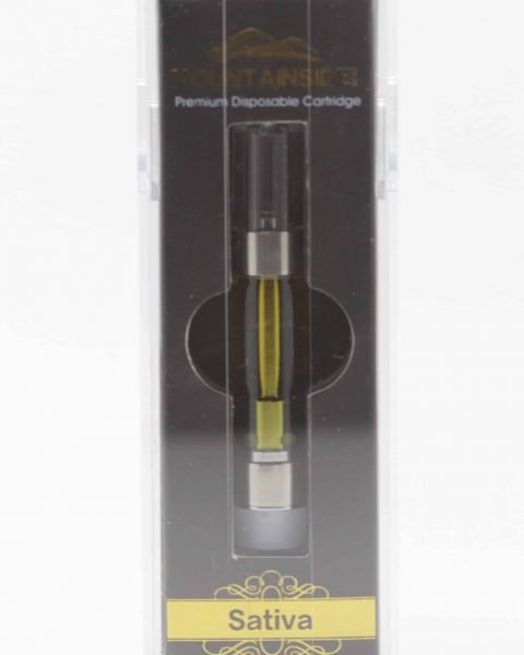 Mountainside Exclusive *Strawberry Cough* Sativa 1g Cartridge